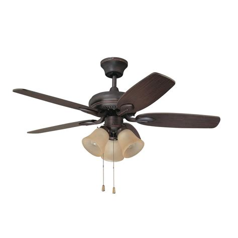 ceiling fan requirements shop kendal lighting cordova 42 in copper bronze downrod