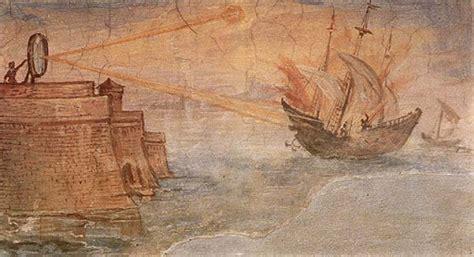 rayo l history el rayo de arqu 237 medes de siracusa a los cazamitos