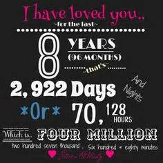 8th wedding anniversary gifts for 8th year anniversary quotes quotesgram
