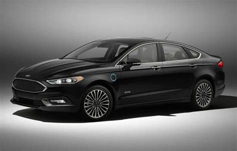 2018 Ford Fusion Energi Plugin Hybrid  Reviews, Specs