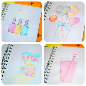 Cute Easy Girly Drawings