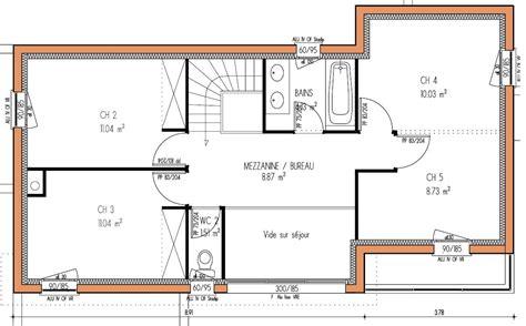 plan de maison gratuit 3 chambres plan de maison plain pied 4 chambres gratuit 3 plan