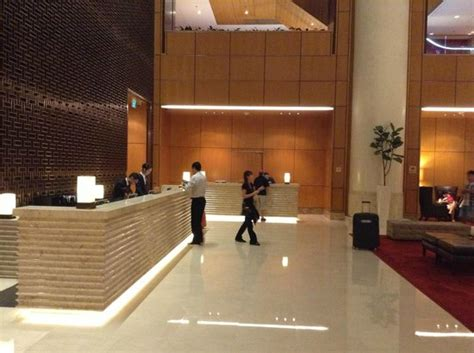 Hotel Du Foyer by Hotel Foyer Picture Of Singapore Marriott Tang Plaza