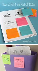 Hello wonderful 12 neat back to school free printables for How to print on post it notes