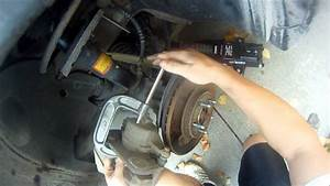 How To Replace Front Brake Pads On A Ford Taurus