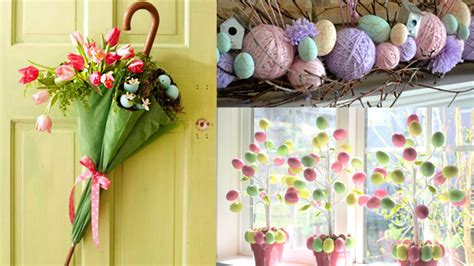 Easter Home Decor Styling: 20 Amusing And Delightful DIY Easter Home Decorations To