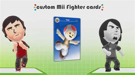 Custom Toad Amiibo Card