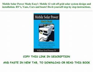 Ebook  Reading Mobile Solar Power Made Easy   Mobile 12