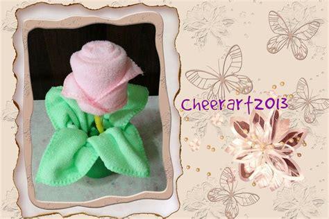 Diy-毛巾玫瑰towel Rose