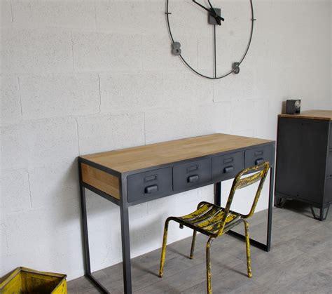 bureau atelier industriel bureau industriel à tiroirs en métal fabrication française