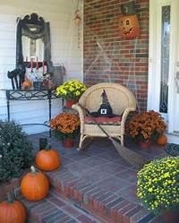 interesting front patio decor ideas Top 17 Halloween Front Porch Decor – Unique & Easy Holiday ...