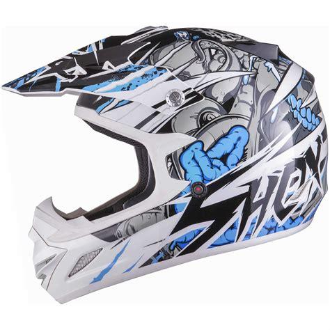 motocross crash helmets shox mx 1 scream motocross atv quad off road adventure