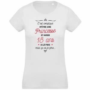 T Shirt 30 Ans : tee shirt original pour f ter ces 18 ans chrono flock ~ Voncanada.com Idées de Décoration