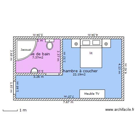 plan chambre hotel chambre d 39 hotel plan 2 pièces 30 m2 dessiné par aymen0482