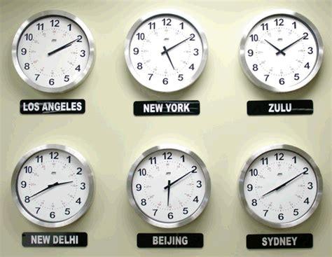 duratime analog time zone display