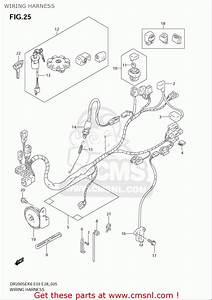 Suzuki Dr200 Se  Usa  Wiring Harness