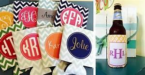 Monogrammed Koozies 20 New Spring Designer Patterns! Jane