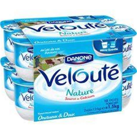 danone veloute yaourt brasse nature les 12 pots de
