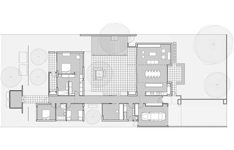 style house plans with interior courtyard hamilton courtyard house australian design review
