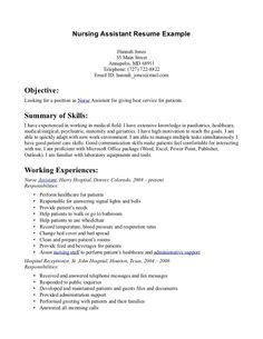 Non Experienced Cna Resume by The World S Catalog Of Ideas