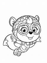 Wing Coloring Pages Shirley Squirrely Printable Fun Squirrel Votes sketch template