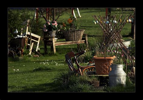 Nostalgie Garten Foto & Bild  Kunstfotografie & Kultur