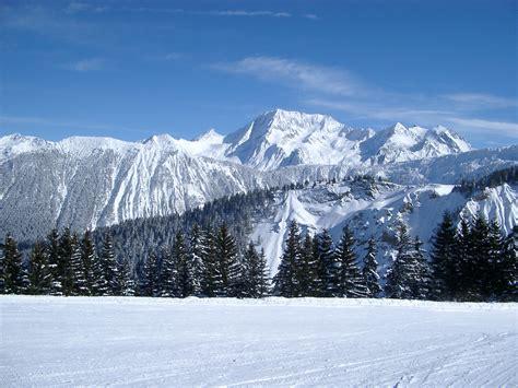 Mountain Snow Scenes Wallpaper (33+ Images