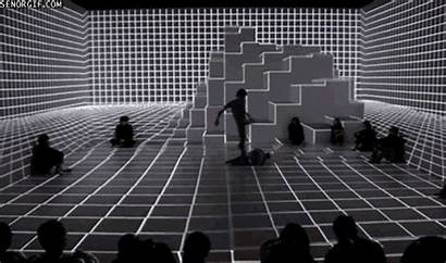Dance Digital Projection Technology Space Interactive Mapping