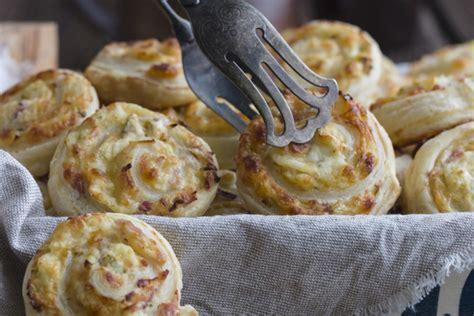 spirales de p 226 te feuillet 233 e au jambon et au fromage kraft
