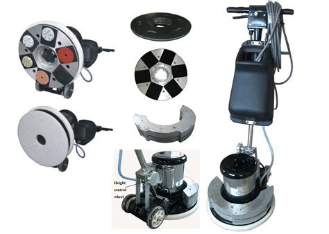 Small Floor Concrete Polishing Equipment Marble Floor