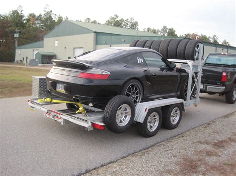 Trailex 7541 Car Hauler Open Aluminum