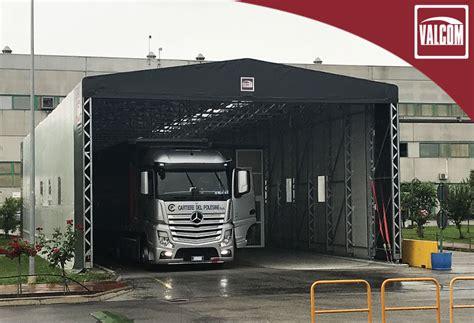 capannone in pvc un capannone in pvc valcom migliora la logistica di