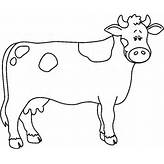 Clipart Of Cow Black And White - ClipartFest | Black And ...
