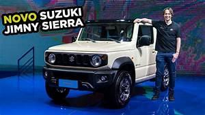 Lan U00e7amento Do Jipinho Samurai Do Off-road  Novo Suzuki Jimny Sierra 4x4 No Brasil