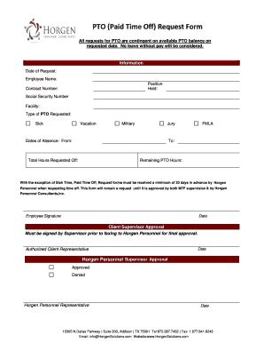 16839 time request forms paid time request form fillable printable top