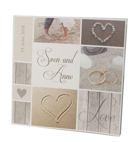 romantische hochzeitskarten mit strandmotiven