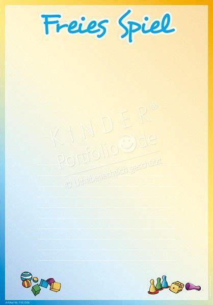 Auf a4 ausdrucken und einmal auf a5 falten, der üblichen ausmalbilder zum ausdrucken blätter, 2021 free download. Kindergarten portfolio Freies Spiel Portfoliovorlage Vorschule Freies Kindergarten portfolio ...