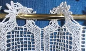 Rideau Macramé Au Mètre : rideau brise bise au metre en macrame de caudry ~ Teatrodelosmanantiales.com Idées de Décoration