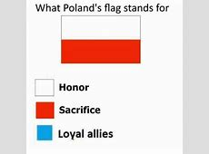 What do the Polish flag colors represent? Quora