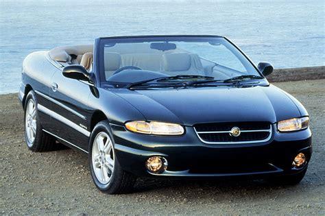 1996 Chrysler Sebring Jxi by 1995 00 Chrysler Sebring Consumer Guide Auto