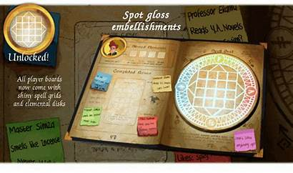 Sided Six Spellbooks Puzzle Play Cast Dice