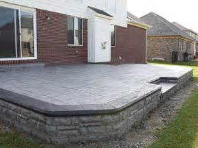 patio flooring options sted concrete patio ideas patio