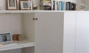Créer Son Bureau Ikea : un bureau discret et beaucoup de rangement ~ Melissatoandfro.com Idées de Décoration