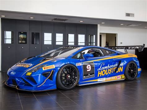 lamborghini gallardo super trofeo race car rare