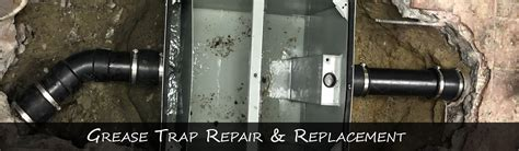 Costa Mesa Grease TRAP Repair & Replacement (RESTAURANTS