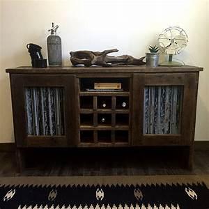 Bar En Bois : meuble bar en bois de grange vestige co ~ Teatrodelosmanantiales.com Idées de Décoration