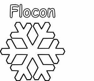 Flocon De Neige En Papier Facile Maternelle : coloriage flocon de neige imprimer sur coloriages info ~ Melissatoandfro.com Idées de Décoration