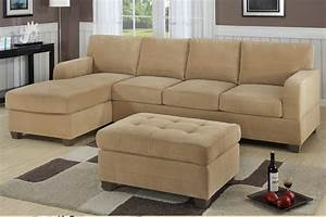 f7130 khaki sectional sofa set by poundex With sectional sofa names