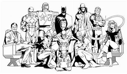 Justice League Kevin Maguire Poster International Comics