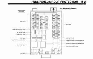 2002 Ford Windstar Fuse Panel Diagram